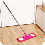 Picture of Floor Cleaning Mop With Steel Rod Long Handle