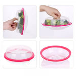 Picture of Plastic Microwave Dome Silicone Food Cover
