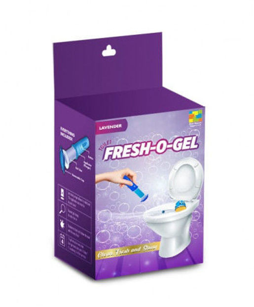 Picture of Fresh-o-gel- Toilet Cleaning Gel(Lavenderflavours)