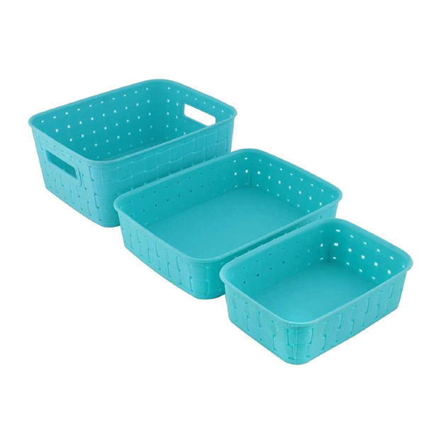Picture of Smart Baskets For Storage(Set Of 3)