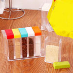 Picture of Spice Rack 6 Lid Container Set