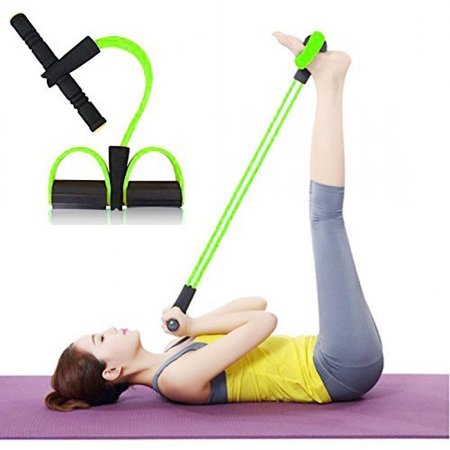 Picture of Pull Reducer Trimmer for Reducing Your Waistline and Burn Off Extra Calories, Arm Exercise, Tummy Fat Burner, Building Training, Waist Reducer Body Shaper, Toning Tube (Multi Color)