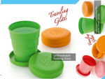 Picture of Magic Cup   Foldable   Pocket Glass for Traveling   Picnic   Multicolour