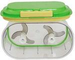 Picture of Twin Chopper, Cutter, Non-electric Cutter Mixer Quick-Cutter, Quick Handy Chopper for Vegetable