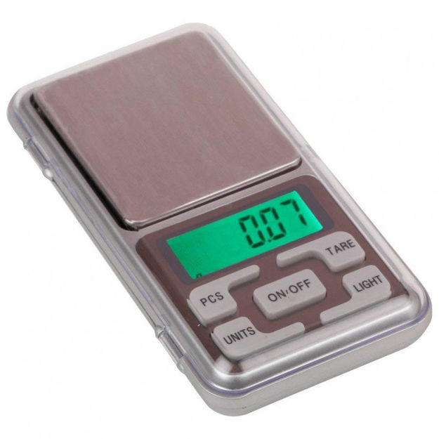 Picture of Digital Pocket Weighing Scale with Green Backlight (600 g, Black)