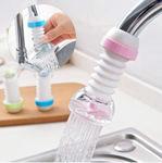 Picture of Anti-Splash Expandable Head Nozzle Bathroom Tap Adjustable Splash Sprinkler Head Sprinkler Water Saving Device Faucet Regulator, Spring-Water-Faucet