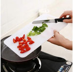 Picture of Plastic Chopping Board (13x8 Inch White)