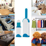 Picture of Cleaning Brushes Pet Cleaner Brush & Lint Remover, Cloth Fabric Brush Reusable Device, Dust Brusher Static Electrostatic Cleaners with Self-Cleaning Base for Furniture, Couch, Carpet