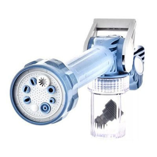Picture of Jet Water Cannon Multi-Function Plastic Spray with Built-in Soap Dispenser