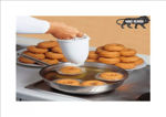 Picture of high Quality Plastic Medu Vada Maker with Stand   Mendu WADA & Doughnut Maker Machine for Perfectly Shaped and Crispy Medu Vada (Multicolour)