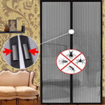 Picture of Mesh Screen Net Home Magnetic Anti Mosquito Door Curtain