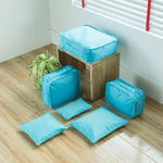 Picture of Polyester Travel Bag with Packing Cubes Laundry Bag Packing Cube Luggage Bag