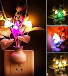 Picture of Fancy Colour Changing LED Mushroom Night Kunju Lamp with Sensor (Multicolour)