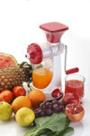 Picture of Hand Juicer for Fruits and Vegetables with Steel Handle Vacuum Locking System,Shake,Travel Juicer for Fruits and Vegetables,Fruit Juicer for All Fruits,Juice Maker Machine (multi-color)