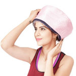 Picture of Hair Care Thermal Head Spa Cap Treatment with Beauty Steamer Nourishing Heating Cap, Spa Cap For Hair, Spa Cap Steamer For Women