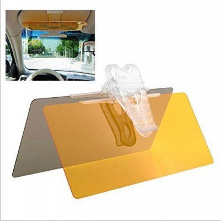Picture of Car Anti-Glare Dazzling Mirror Day Night Driving Mirror Sun Shade HD Vision Visor Sun Visors