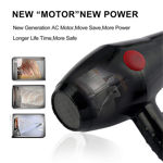 Picture of Professional Multi Purpose Elite Hair Dryer 2800 (Black, 2000 Watts, Hot and Cold) (Black)