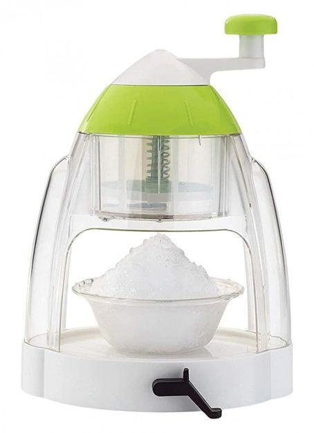 Picture of New Plastic Ice Gola Slush Maker Ice Snow Maker Machine, Ice Crusher, Indoor Outdoor Manual Home