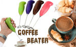 Picture of Milk Frother Electric Foam Maker Classic Sleek Design Hand Blender Mixer Froth Whisker Latte Maker