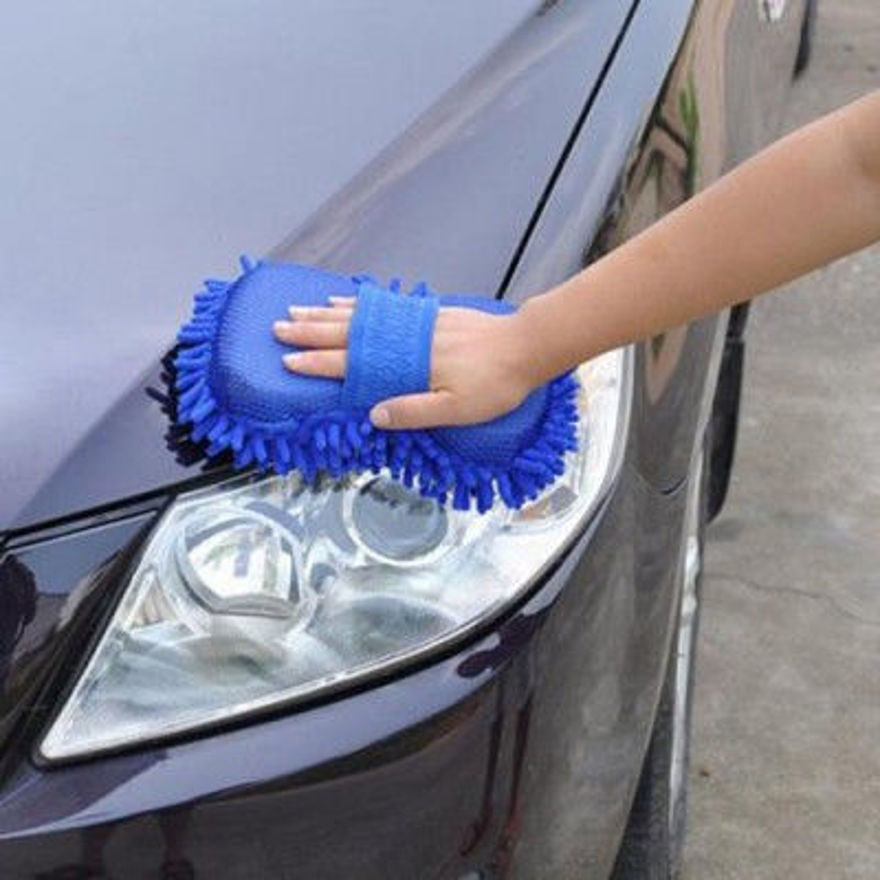 Picture of Multipurpose Car Wash Sponge and Dry Cleaning Sponge, High Performance Cleaning Sponge, Sponge for Washing Car Window Home Cleaning Tool (Multi Colour)