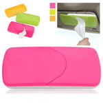 Picture of Auto Accessories Car Sun Visor Tissue Box Paper Napkin Holder with Tissue (Multicolour)