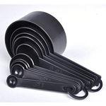 Picture of 8 Pcs Black Spoon Set