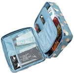 Picture of Travel Portable Cosmetic Makeup Case Organizer Travelling Storage Pouch Bag for Women