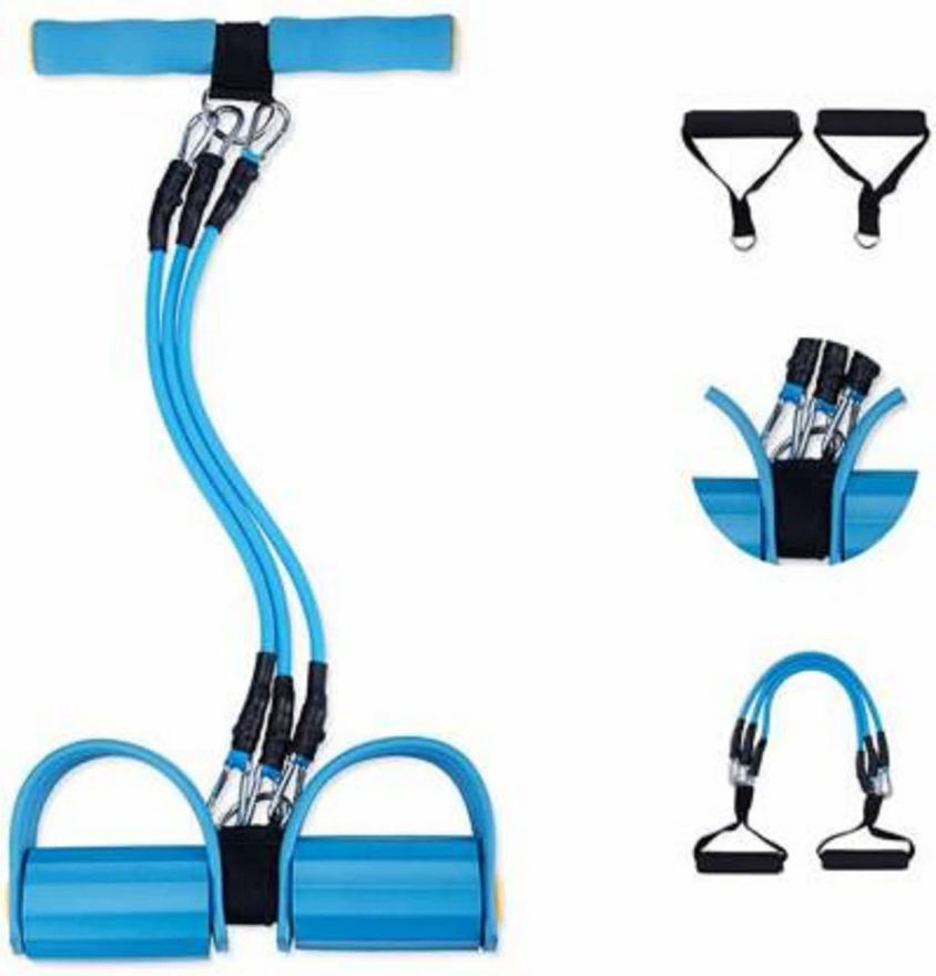 Picture of Pull Reducer, Waist Reducer Body Shaper Trimmer for Reducing Your Waistline, Arm Exercise, Tummy Fat Burner, Bodybuilding Training, Toning Tube For Men And Women