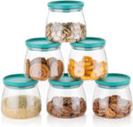 Picture of Food Storage Container, Kitchen Container Set, Plastic Container, Storage Box, Masala box, Dibba, Plastic Utility Container (900 ml, Pack of 6)
