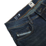Picture of Men's Greenish Blue Regular Stretchable Jeans